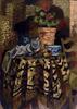 Roger BISSIÈRE - Gemälde - Pot de fleur et tasse sur un gueridon, Circa 1926