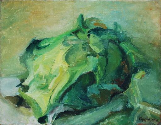 Youla CHAPOVAL - Peinture - Composition 1945