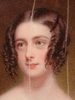 "William John NEWTON - Miniature - ""Miss Morris"", 1837, Miniature"