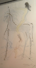 Salvador DALI - Print-Multiple - Le cheval du pharaon