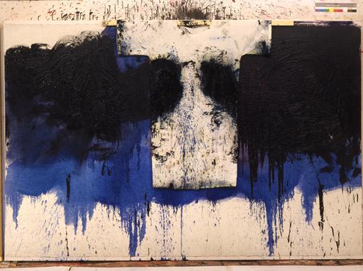 Hermann NITSCH - Peinture - Schüttbild mit Hemd