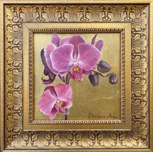 Dayana TULINA - Gemälde - Orchid