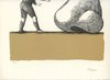 Roland TOPOR - Print-Multiple - LITHOGRAPHIE 1972 SIGNÉE CRAYON NUM100 HANDSIGNED LITHOGRAPH
