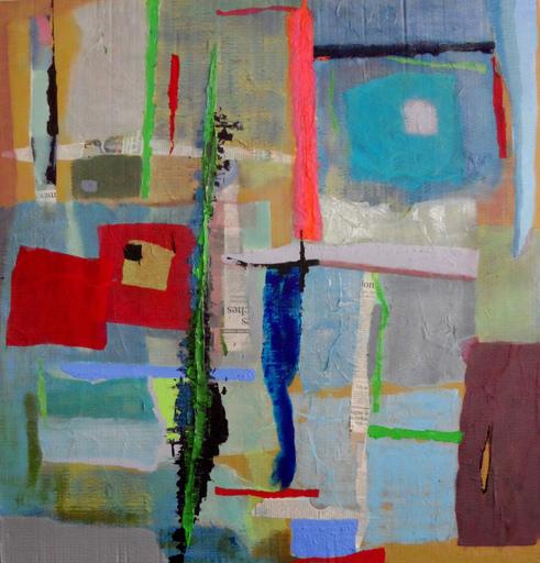Christine GROSARU-BLETON - Gemälde - Glaces