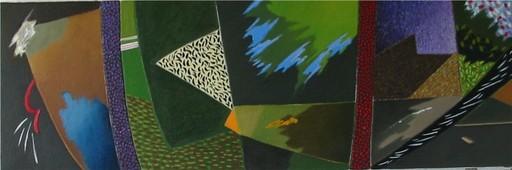 Daniel François CAYO - Peinture - Les allées sombres