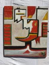 Abol ATIGHETCHI - Gemälde - EL TORRO