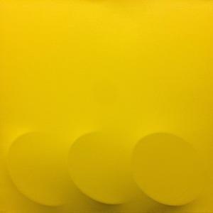 Turi SIMETI - Pittura -  3 ovali gialli