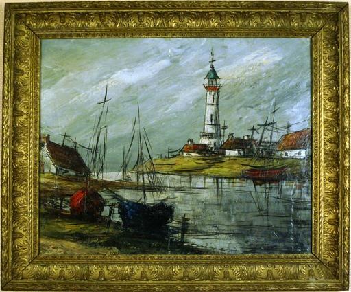 Jean CARZOU - Gemälde - Le phare