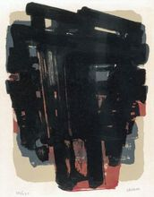 Pierre SOULAGES - Print-Multiple - Lithographie n° 8