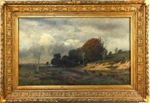 Charles François DAUBIGNY (1817-1878) - Barbizon Landscape Scene