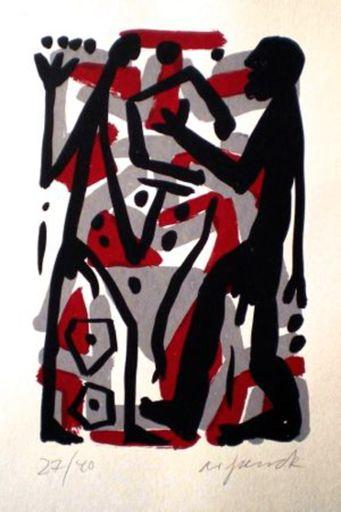 A.R. PENCK - Print-Multiple - Untitled 3