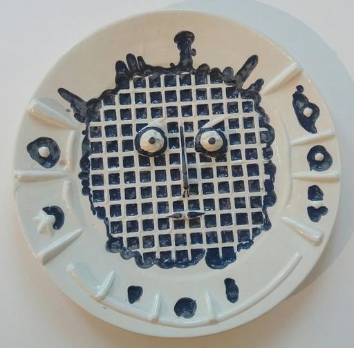 巴勃罗•毕加索 - 陶瓷  - Visage à la grille