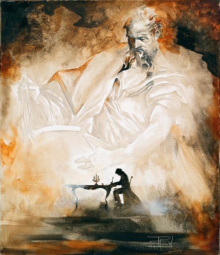 Roger SURAUD - Painting - Inspiration