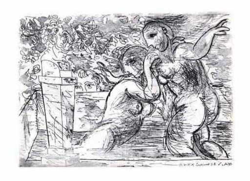 Pablo PICASSO - Print-Multiple - Vollard Suite B. 194