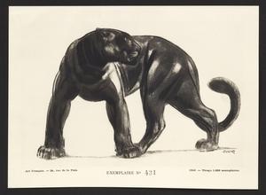 Paul JOUVE - Print-Multiple - Panthère noire