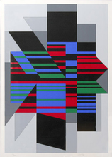 Victor VASARELY - Estampe-Multiple - Attila