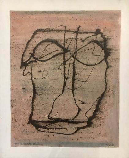 Willem VAN HECKE - Painting - Introspectie