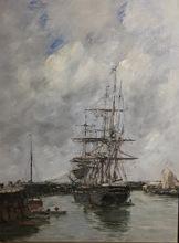 欧仁•布丹 - 绘画 - Trouville, Jetée marée haute