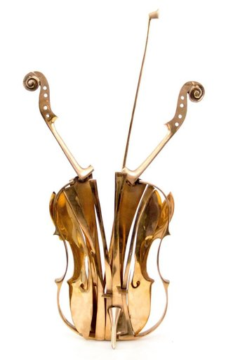 Fernandez ARMAN - Escultura - Violon Venice