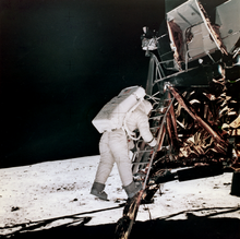 N.A.S.A. - Photography - Apollo 11 - Moonwalk - 21 July 1969