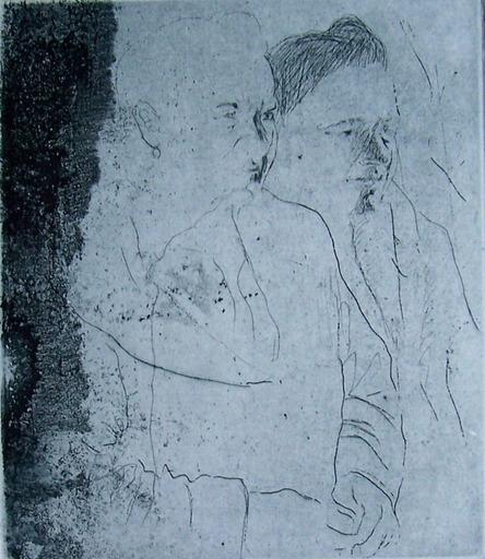 Jacob GILDOR - Print-Multiple -  Two Figures