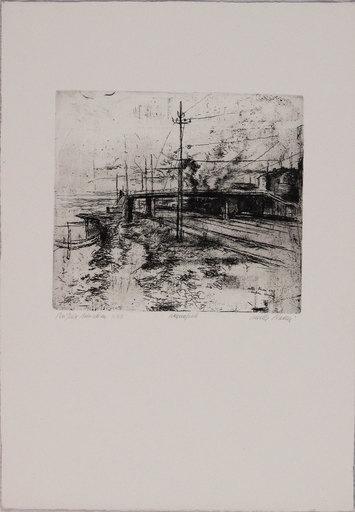 Walter PIACESI - Stampa-Multiplo - Periferia adriatica