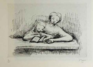Henry MOORE, Readin Lesson