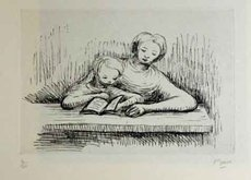 Henry MOORE - Print-Multiple - Readin Lesson