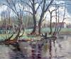 Paul Émile PISSARRO - Pintura - Les iles à Cantepie