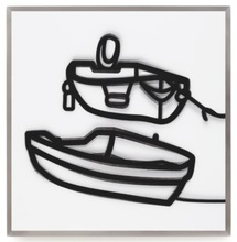 Julian OPIE - Estampe-Multiple - Lenticular Boats 2