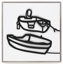 Julian OPIE - Grabado - Lenticular Boats 2