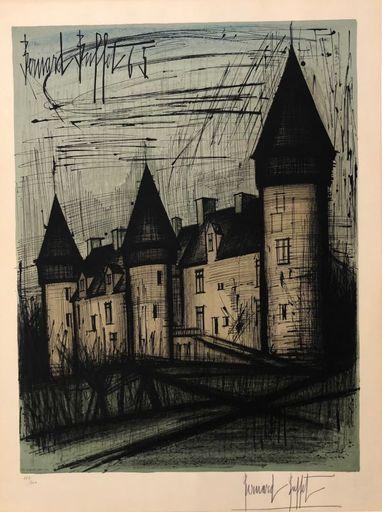 Bernard BUFFET - Print-Multiple - Le Château de Culan