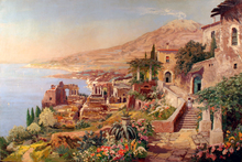 Alois ARNEGGER - Pintura - Taormina