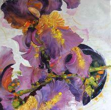 Nadine PILLON - Painting - A Toucher le ciel