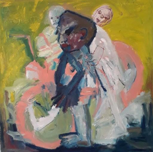 Bernard MOREL - Pintura - LA MOBYLETTE