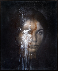 Marco STEFANUCCI - Painting - Volto