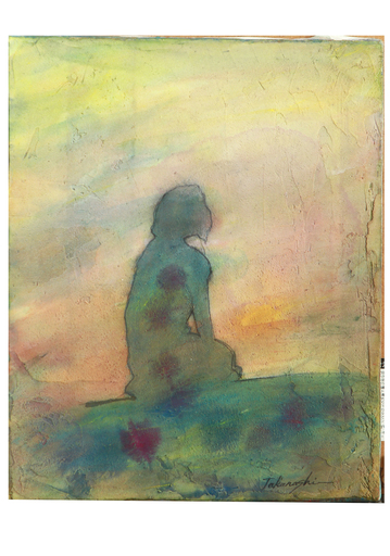 Miyuki TAKANASHI - Gemälde - Beyond the Setting Sun