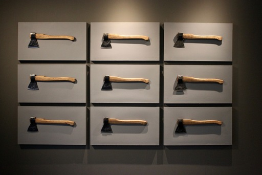 Vasily SLONOV - Sculpture-Volume - Installation with Nine Axes