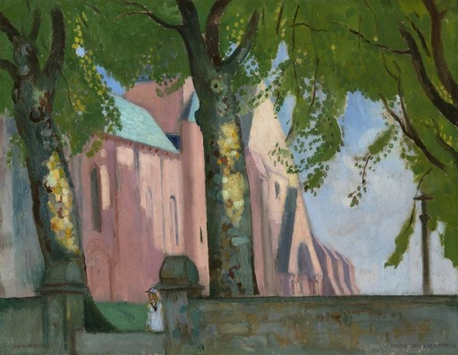 Maurice DENIS - Peinture - Notre-Dame de Kernitron, Bretagne