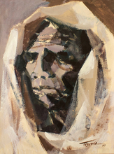 Romeo TABUENA - Painting - Doña María
