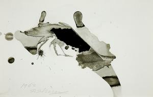 Shozo SHIMAMOTO - Gemälde - Ana Esquisse 02