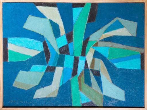 Jorj MORIN - Painting - Etoile Verte