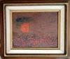 David PERETZ - 绘画 - Landscape and Sun
