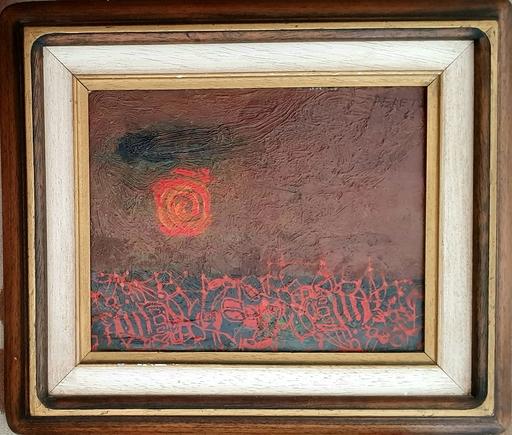 David PERETZ - Gemälde - Landscape and Sun
