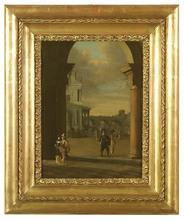 "Gerrit HOUCKGEEST (Attrib.) - Pintura - ""After Mass"", Oil on Panel, early 17th Century"