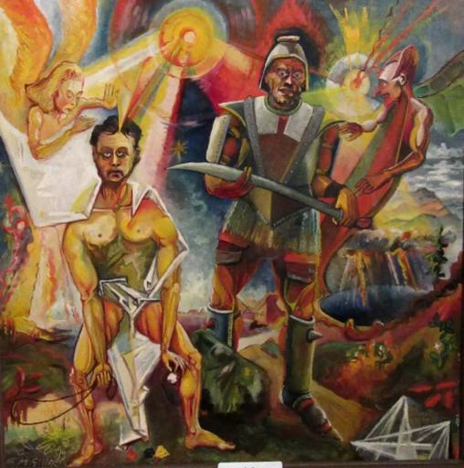 Manfred SILLNER - Pintura - Samuel