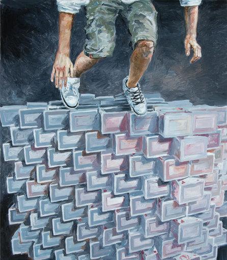 Luc DONDEYNE - Disegno Acquarello - Mind the Gap