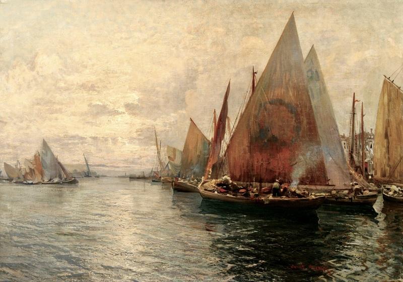 Fausto PRATELLA - Painting - In porto