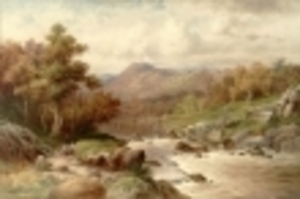 William Henry MANDER, The Festtiniog Valley, North Wales