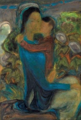 LE PHO - Painting - Maternité